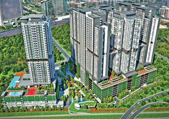 PR1MA @ Brickfields, Kuala Lumpur (Damansara - Penchala)